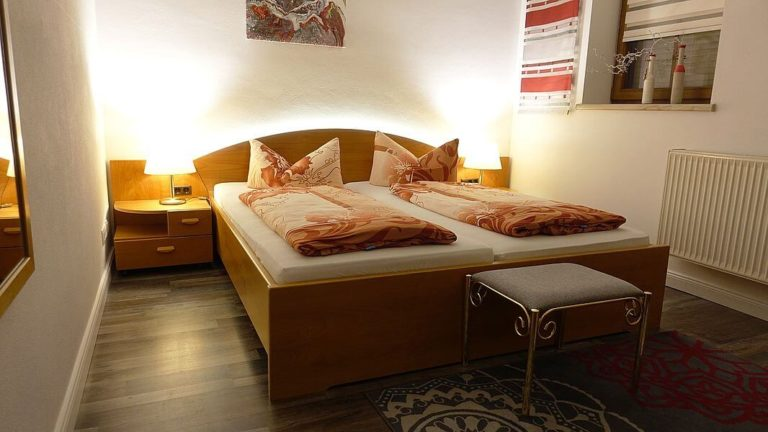 Doppelzimmer mit Ambientebeleuchtung